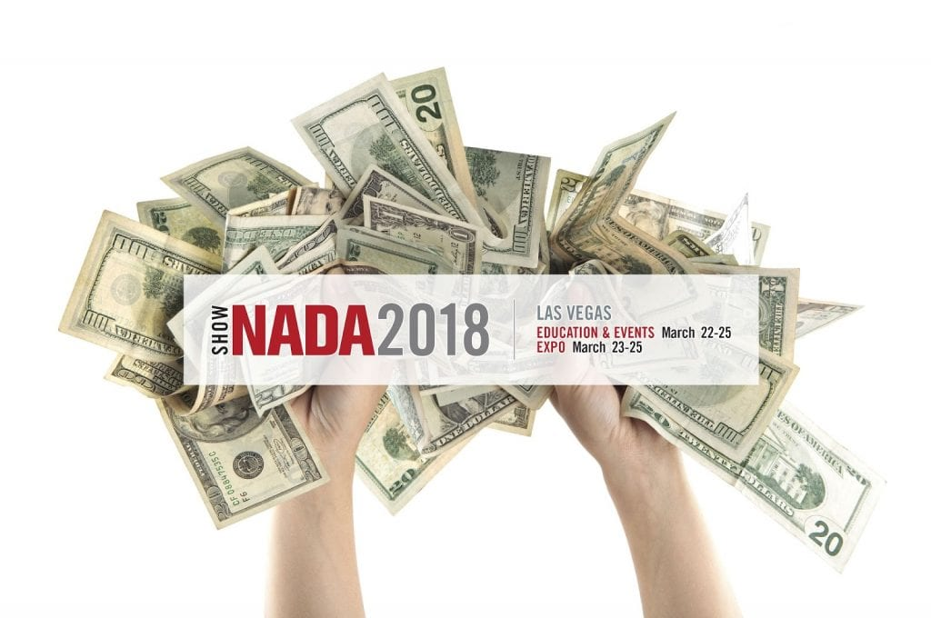NADA Show 2018 Las Vegas