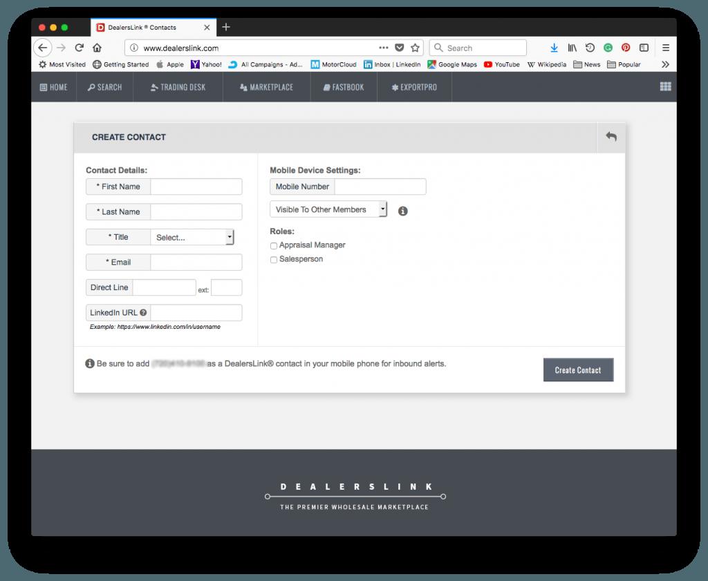 Create a new user name