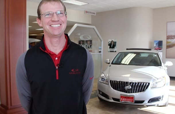 Andy Rhoads, Sales Manager George Gee Buick GMC
