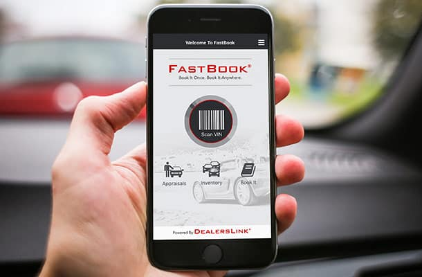 FastBook dealership VIN scanner