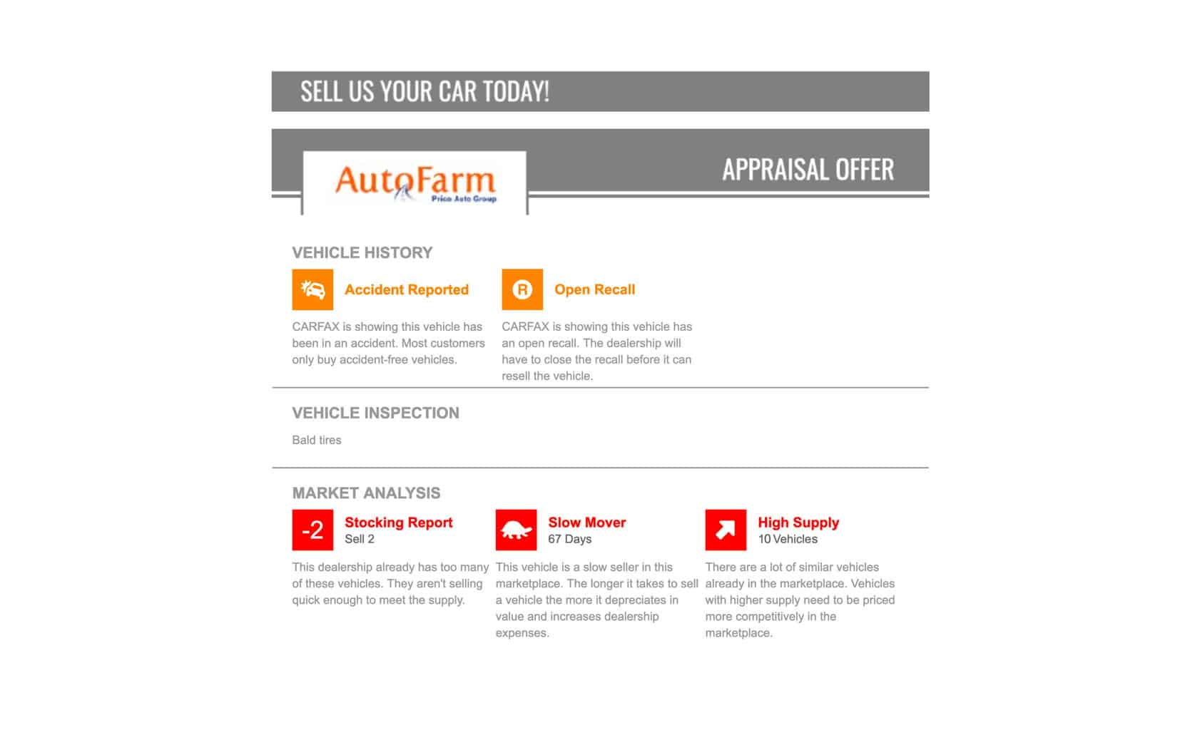 trade-in appraisal